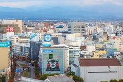 Castello di Kumamoto, Giappone, Kumamoto - 6 dicembre 2014 Fotografia Stock Libera da Diritti
