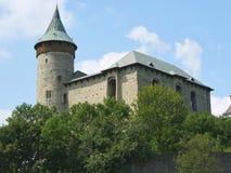 Castello di Kuneticka Hora, Pardubice, repubblica Ceca Immagini Stock