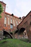 Castello di Kwidzyn, Polonia Fotografia Stock Libera da Diritti