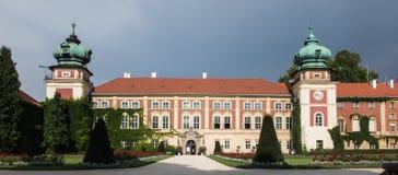 Castello di Lancut, Polonia vecchio palazzo storico Fotografia Stock