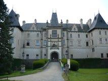 Castello di Žleby Fotografia Stock