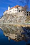 Castello di Ledec nad Sazavou Fotografia Stock Libera da Diritti