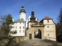 Castello di Lemberk immagini stock libere da diritti