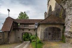 Castello di Lenzburg, Svizzera Fotografia Stock