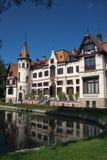 Castello di Lesna Fotografie Stock