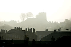Castello di Lewes Fotografia Stock Libera da Diritti