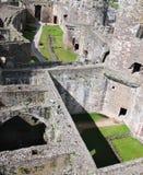 Castello di Lingua gallese - Conwy fotografie stock