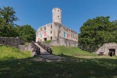 Castello di Lipowiec Immagini Stock