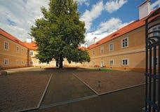 Castello 02 di Litvinov Fotografia Stock