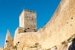 Castello di Lombardia in Enna, Sicily Royalty Free Stock Photography