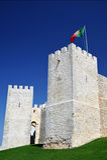 Castello di Loule, Portogallo Fotografie Stock Libere da Diritti