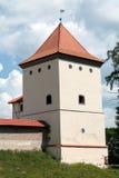 Castello di Lubcha in Bielorussia Fotografia Stock