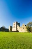 Castello di Ludlow alla luce solare Fotografia Stock
