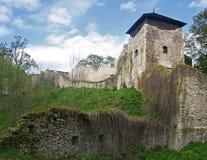 Castello di Lukov Immagini Stock