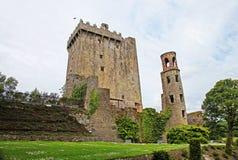 Castello di lusinga in Irlanda Immagini Stock