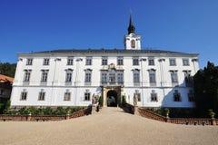 Castello di Lysice, ceco immagini stock