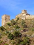 Castello di Mértola Immagine Stock Libera da Diritti
