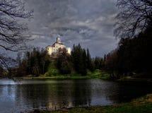 Castello di magia di Trakoscan fotografie stock libere da diritti