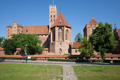Castello di Malbork Fotografia Stock