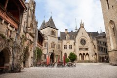 Castello di Marienburg, Germania, Fotografie Stock Libere da Diritti