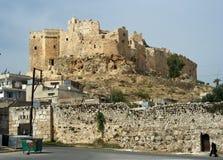 Castello di Massayef, Siria fotografia stock libera da diritti