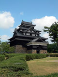 Castello di Matsue Fotografia Stock Libera da Diritti
