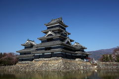 Castello di Matsumoto fotografie stock