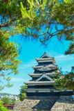 Castello di Matsumoto Immagini Stock Libere da Diritti