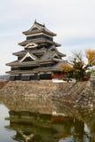 Castello di Matsumoto Fotografia Stock
