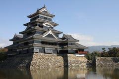 Castello di Matsumoto, Giappone Fotografie Stock