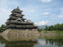 Castello di Matsumoto nel Giappone Fotografie Stock