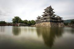 Castello di Matsumoto nel Giappone Fotografia Stock Libera da Diritti