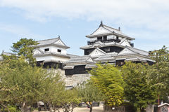 Castello di Matsuyama Immagine Stock Libera da Diritti