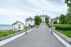 Castello di Mauritzberg, Svezia Fotografie Stock Libere da Diritti