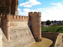 Castello di Medina Campo´s, Spagna Fotografia Stock Libera da Diritti