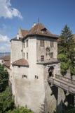Castello di Meersburg Immagini Stock