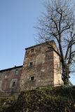 Castello di Melegnano Fotografia Stock Libera da Diritti
