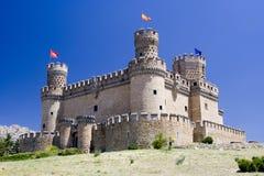 Castello di Mendoza Fotografia Stock Libera da Diritti