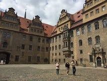 Castello di Merseburg Fotografia Stock