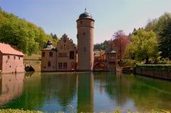 Castello di Mespelbrunn Fotografia Stock Libera da Diritti