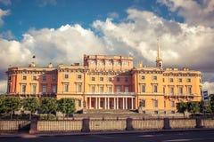 Castello di Mikhailovsky, St Petersburg Immagine Stock