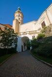 Castello di Mikulov Immagini Stock