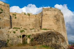 Castello di Milazzo Stock Photos