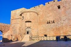 Castello di Monopoli La Puglia L'Italia Fotografie Stock Libere da Diritti