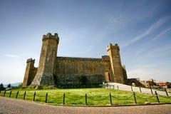 Castello di Montalcino in Toscana Immagine Stock Libera da Diritti