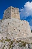 Castello di Monte Sant ' Angelo. La Puglia. L'Italia. Immagine Stock Libera da Diritti