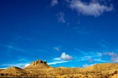 Castello di Montearagon, Huesca, Spagna Fotografia Stock Libera da Diritti