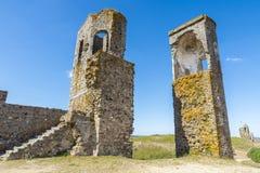 Castello di Montemor o Novo, l'Alentejo, Portogallo Fotografia Stock Libera da Diritti