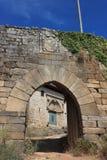 Castello di Monterrei Fotografie Stock