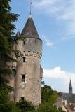Castello di Montresor nel Loire Valley Fotografie Stock